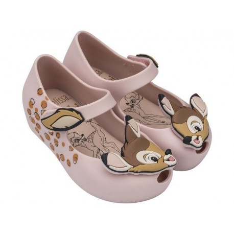 MINI MELISSA ULTRAGIRL + BAMBI BB 01276 LIGHT PINK ROSA