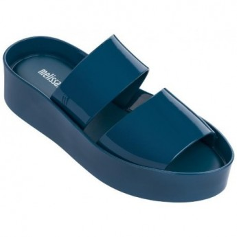 SHIBUYA blue platforms open sandals for woman