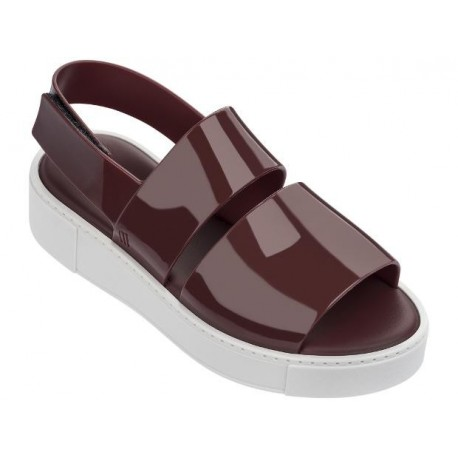 SOHO wine platforms open sandals for woman