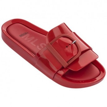 MELISSA BEACH SLIDE IV AD 01371 RED ROJO