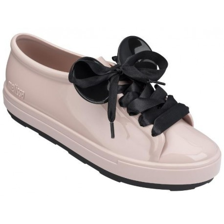 BE + DISNEY disney black and pink flat sneakers for woman