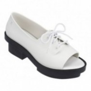 WANNA BE RIO black and white platforms closed ballet flats for woman