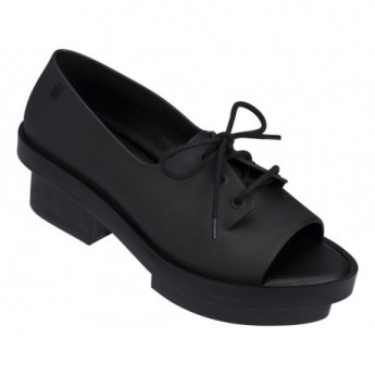 WANNA BE RIO black platforms closed ballet flats for woman
