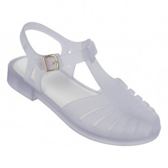 ARANHA 1979 white flat crab sandals for girl