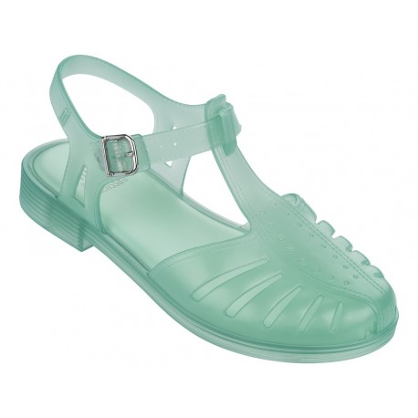 ARANHA 1979 green flat open sandals for girl