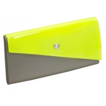 CHROMATIC green and yellow handbags for woman