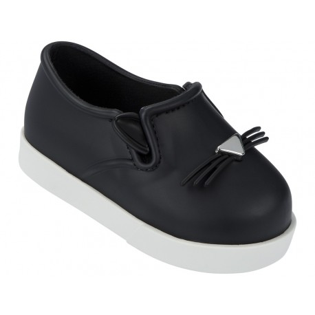 MINI MELISSA IT BB 51492 BLACK WHITE-NEGRO BLANCO