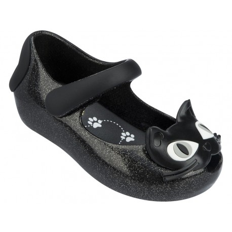 ULTRAGIRL II black flat ballet flats for baby