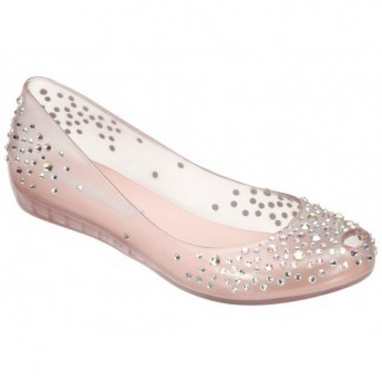 ULTRAGIRL j.maskrey pink flat closed ballet flats for woman
