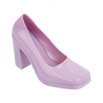 SHIFT pink with heel closed ballet flats for woman