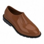 PREPPY black and brown flat closed ballet flats for woman