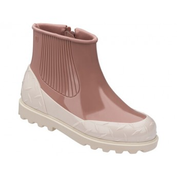 FUSION beige and pink under closed boots for woman