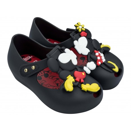 MINI MELISSA ULTRAGIRL + DISNEY TWINS III BB 01003 BLACK NEGRO