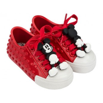 POLIBOLHA + DISNEY red flat sneaker sneakers for baby