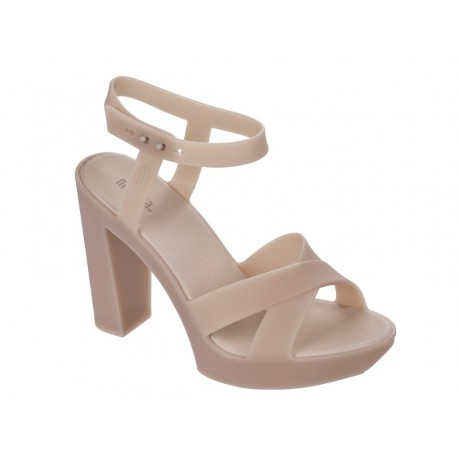 CLASSIC LADY pink with heel open sandals for woman