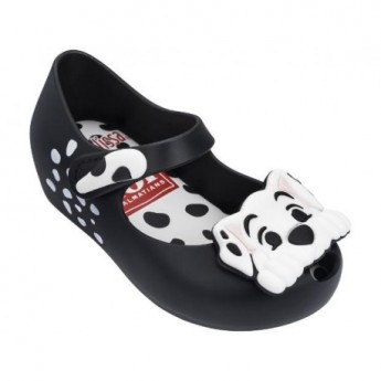 MINI MELISSA ULTRAGIRL + 101 DALMATIANS BB 51492 BLACK WHITE-NEGRO BLANCO