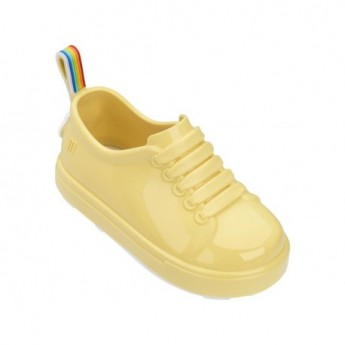 BE II yellow flat sneaker sneakers for baby