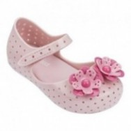 FURADINHA XII pink flat closed ballet flats for baby