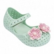 FURADINHA XII green flat closed ballet flats for baby