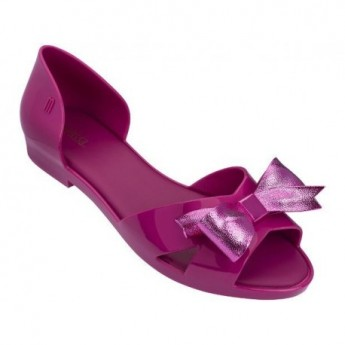SEDUCTION IV pink flat open ballet flats for woman