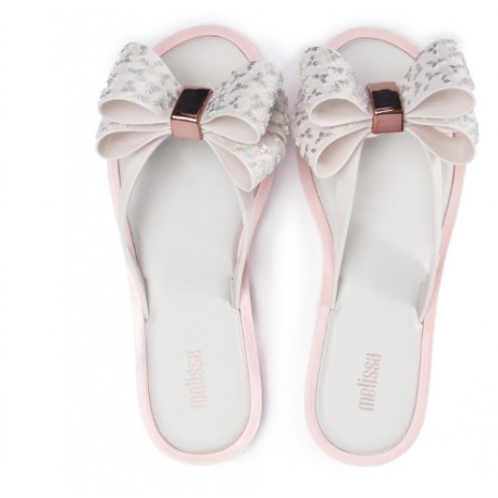 sneakers for cheap 6ccfe 8ce29 MELISSA FLIP FLOP SWEET AD 51463 WHITE PINKBLANCO ROSA