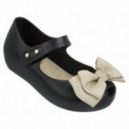 MINI MELISSA ULTRA SWEET BB 51496 BLACK BEIGE-NEGRO BEIGE