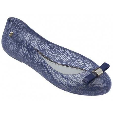 SPACE LOVE + JASON WU blue fantasy print flat closed ballet flats for woman