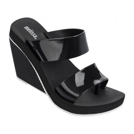 MELISSA SUMMER HIGH AD 51492 BLACK WHITE-NEGRO BLANCO