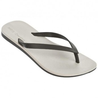 MELISSA + IPANEMA beige flat finger flip flops for woman