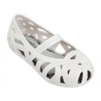 MINI MELISSA JEAN + JASON WU BB 01177 WHITE BLANCO