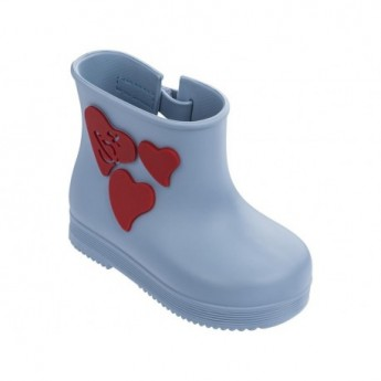 BOOT vivienne westwood blue fantasy print flat closed boots for baby