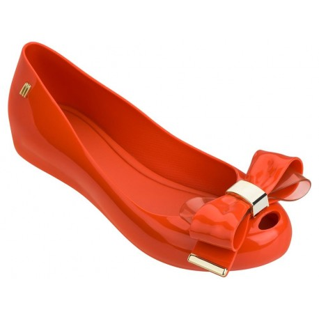 ULTRAGIRL SWEET XVII red flat closed ballet flats for woman