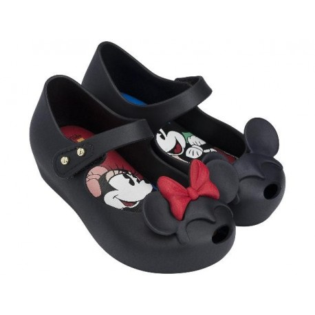 MINI MELISSA ULTRAGIRL + DISNEY TWINS II BB 01003 BLACK NEGRO