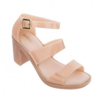 MODEL pink open sandals for woman