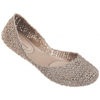 CAMPANA PAPEL VII hermanos campana beige flat ballet flats for woman