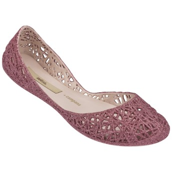 CAMPANA ZIG ZAG II campana brothers pink flat closed ballet flats for woman
