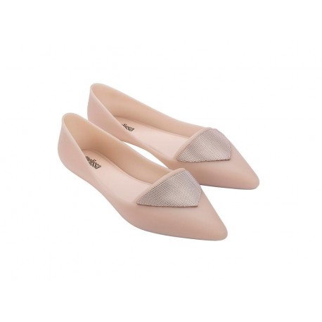 POINTY IV pink flat closed ballet flats for woman