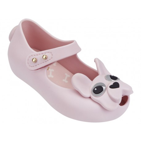 MINI MELISSA ULTRAGIRL DOG BB 01373 LIGHT PINK ROSA CLARO