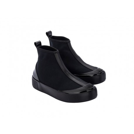 JOY BOOT black flat closed boots for woman