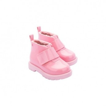 CHELSEA BOOT pink flat closed boots for baby