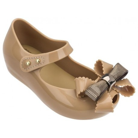 ULTRAGIRL SWEET IV beige flat closed ballet flats for baby