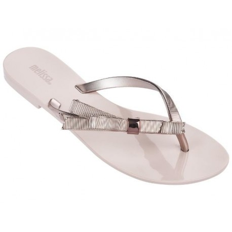 HARMONIC CHROME pink flat finger sandals for woman