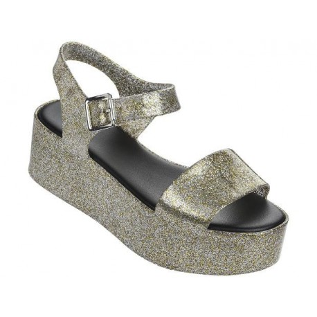 MAR gold platforms sandals for woman