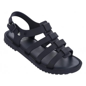 FLOX navy blue flat roman sandals for girl