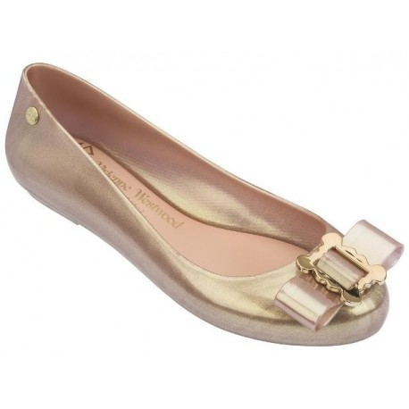 SPACE LOVE II vivienne westwood pink flat ballet flats for woman