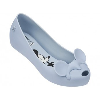 ULTRAGIRL + MINNIE II disney blue flat closed ballet flats for girl