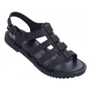 FLOX UNISSEX blue and navy blue flat roman sandals for woman