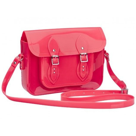 MELISSA SATCHEL + THE CAMBRIDGE SATCHEL CO AD 06709 NEON PINK ROSA NEON