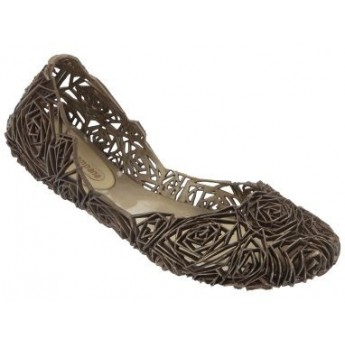 CAMPANA FITAS brown flat ballet flats for woman